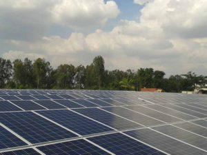 1.65 MW solar power plant , Hosur, Tamilnadu