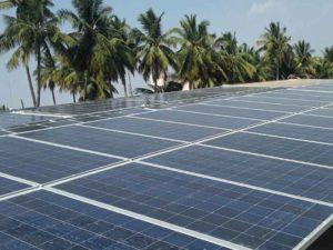 130 kWp Grid Tie SPV plant, Erode ,TN