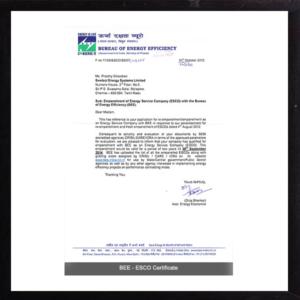 ESCO certification 2
