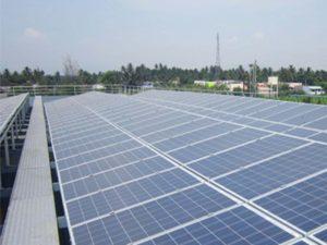 2×100 kWp Grid Interactive Rooftop, Coimbatore, TN