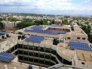 411.6 kWp Grid Tie SPV plant – University in Bangalore, Karnataka