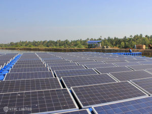 100 kWp CIPET India's Floating Solar Power Plant